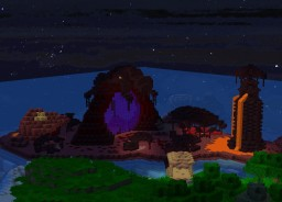 Nether Island Minecraft Project