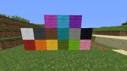 1.12 Block colours in 1.8 (Clay and wool blocks) Minecraft Texture Pack