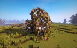 Medieval house II Minecraft Project