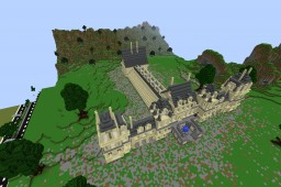 French Chateau Minecraft Map & Project