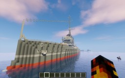 HMS Dreadnought (1906) Minecraft Project