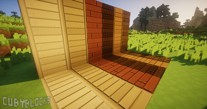 3D planks models! yay! with Chocapic13 V6 Extreme