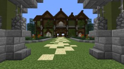 Happy Horse Stables Minecraft Map & Project