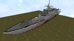 USS Fort Worth (LCS-3) Minecraft Project