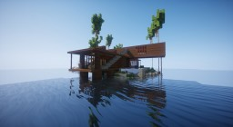 islan.d - contemporary island house Minecraft Map & Project
