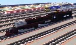 Union Pacific Big Boy Steam Locomotive Minecraft Project