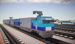 Japan Railways Freight M250 Series EMU Minecraft Project