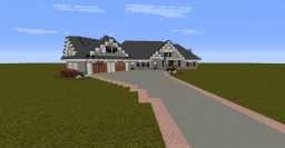 Craftsman Home Minecraft Map & Project