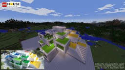LEGO House: Home of the Brick v1.1 Minecraft Map & Project
