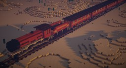 Western Train / build by Sciron Minecraft Map & Project
