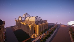 Grand palais 1900 Minecraft Project