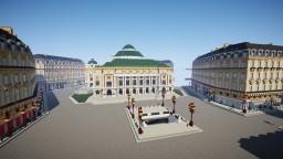 Opéra Garnier 1900 Minecraft Map & Project