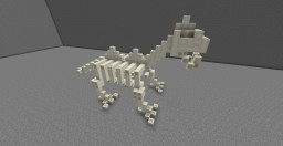 Minecraft Dinosaur Skeleton Minecraft Map & Project