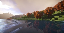 Loch Arkaig (The dragon flight from Harry Potter) Minecraft Map & Project