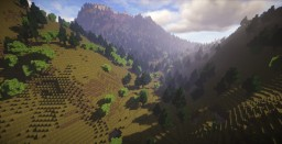 Glen Nevis (The Dragon Challenge from Harry Potter) Minecraft Map & Project