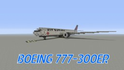 Air Canada Boeing 777-300ER Minecraft Map & Project