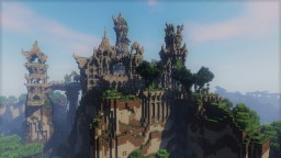 Ithil'Nosse, Ancient Elven Ruins Minecraft Project