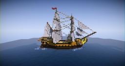 18th Century Ship | Brig Minecraft Project