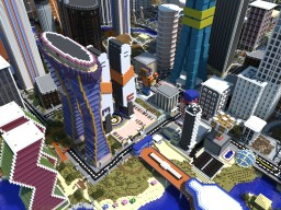 Matt's MineCity - Massive Modern City - DOWNLOAD! Minecraft