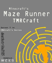 The Maze Runner/TMRCraft, 1:1 Scale WIP Minecraft Map & Project