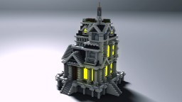 Small Baroque house Minecraft