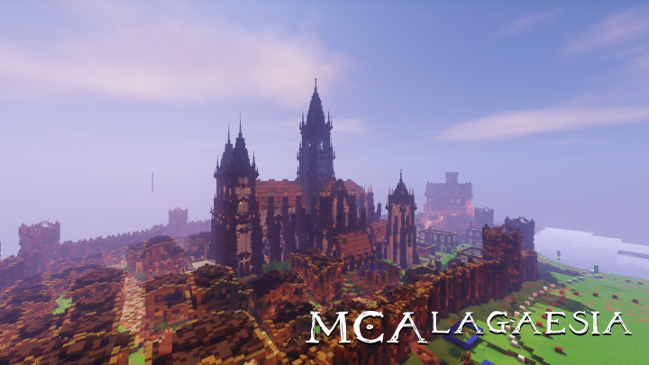 The City of Dras-Leona, currently under construction.