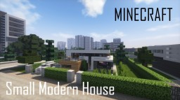 Small Modern House (full interior) Minecraft Map & Project
