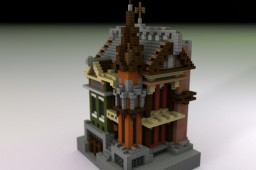Town House by fixy Minecraft Project