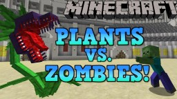 PLANTS VS. ZOMBIES! Mowzie's Mobs Showcase! Minecraft Blog Post