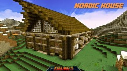 Nordic House Minecraft Map & Project