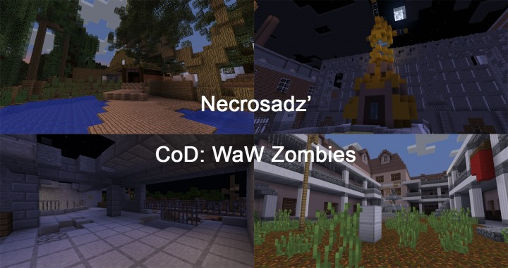 CoD: WaW Nazi Zombies Minigame [1.14.1] [1-4 Player][Vanilla/ No ...