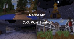 CoD: WaW Nazi Zombies Minigame [1.12+] [1-4 Player][Vanilla/ No Mods!] Minecraft Map & Project
