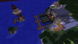 Fixing a castle Minecraft Project