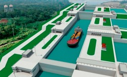 Panama Canal Minecraft Map & Project