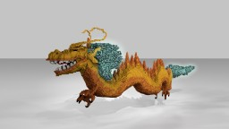 [Organic] Chinese Dragon Minecraft Project