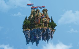 A little castle in the Air - Minecraft Creation (by LucasDiablo) Minecraft Map & Project