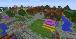 Shakes and Fidget City Minecraft Map & Project