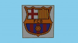 FC Barcelona Logo(Football) Minecraft Map & Project