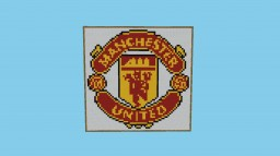 Manchester United Logo(Football) Minecraft Map & Project