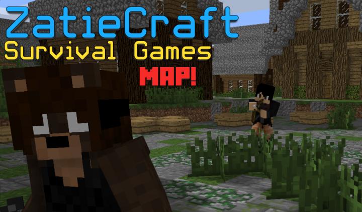 Zatie Craft Minecraft Survival Games Map 1 12 Minecraft