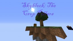 Skyblock: The Crop Pillars Minecraft Map & Project