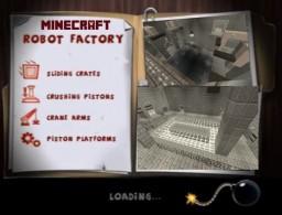 Minecraft Spy vs Spy Robot Factory Minecraft Map & Project