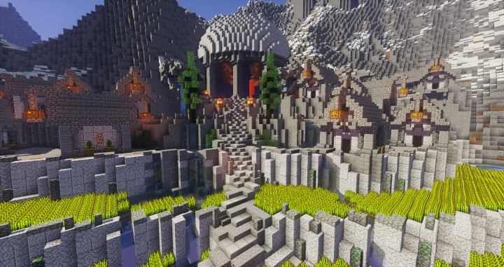 The dwarven city of Tarnag
