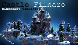 Minecraft Timelapse   Fantasy Frozen Castle   Filnaro Minecraft Project