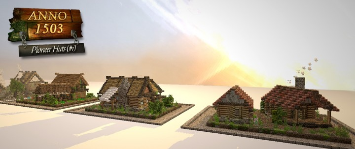 Anno 1503 pioneer huts part 1 minecraft project anno 1503 pioneer huts part 1 gumiabroncs Choice Image