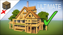 How to TRANSFORM your Minecraft House into the ULTIMATE SURVIVAL HOUSE! Minecraft Project