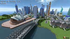 Minecraft PS3 AND PS4 World of Worlds Map Minecraft Project