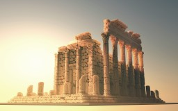 Roman Temple 0f 3 Orders Minecraft Project