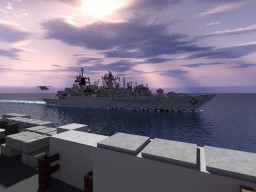 Type 22 frigate - Batch III Cornwall Class Minecraft Map & Project