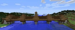 Chinese Dong Style Architecture: 風雨Fengyu (Wind and Rain) Bridge Minecraft Project